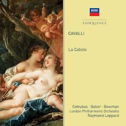 La Calisto by Francesco Cavalli ,   Ileana Cotrubaș ,   Dame Janet Baker ,   James Bowman ,   London Philharmonic Orchestra  &   Raymond Leppard