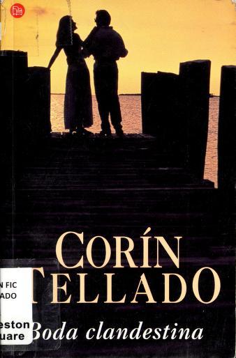 Cover of: Boda clandestina | Corín Tellado